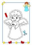 Libro di coloritura di natale 2 Immagini Stock