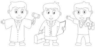 Libro di coloritura per i bambini [10] Fotografie Stock Libere da Diritti