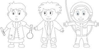 Libro di coloritura per i bambini [11] Fotografie Stock Libere da Diritti