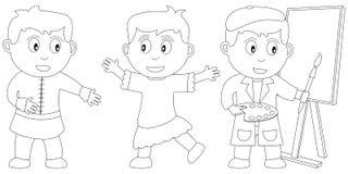 Libro di coloritura per i bambini [16] Fotografia Stock Libera da Diritti