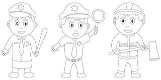Libro di coloritura per i bambini [20] Fotografie Stock Libere da Diritti