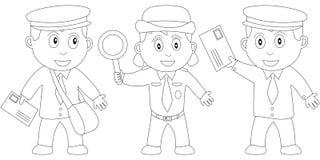Libro di coloritura per i bambini [21] Immagini Stock Libere da Diritti