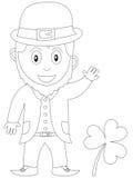Libro di coloritura per i bambini [24] Fotografia Stock Libera da Diritti