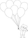 Libro di coloritura per i bambini [26] Immagine Stock Libera da Diritti
