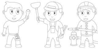 Libro di coloritura per i bambini [9] Immagine Stock