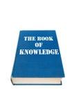Libro di conoscenza Fotografie Stock Libere da Diritti