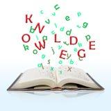 Libro di conoscenza Immagini Stock
