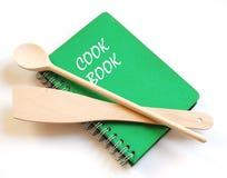 Libro di cucina fotografia stock