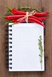 Libro di cucina. immagine stock libera da diritti