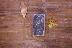 Libro di cucina. fotografie stock libere da diritti