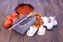 Libro di cucina. immagini stock libere da diritti