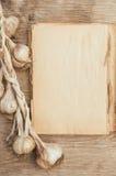Libro di cucina d'annata fotografia stock libera da diritti