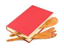 Libro di cucina ed articolo da cucina fotografie stock