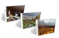 Libro di Ecuadoor fotografia stock