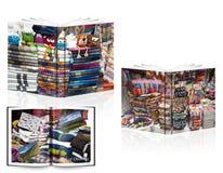 Libro di Ecuadoor immagini stock libere da diritti