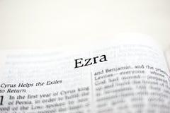 Libro di Ezra Fotografia Stock Libera da Diritti