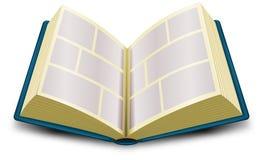 Libro di fumetti Fotografie Stock