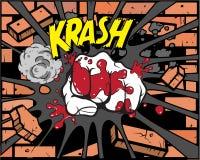 Libro di fumetti - Iron Fist illustrazione vettoriale