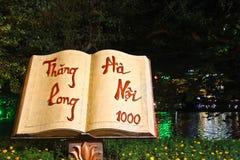 Libro di Hanoi, Vietnam Fotografie Stock