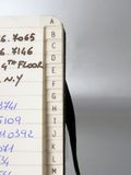 Libro di indirizzo Fotografie Stock Libere da Diritti