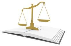 Libro di legge Immagini Stock Libere da Diritti
