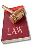 Libro di legge Fotografia Stock Libera da Diritti