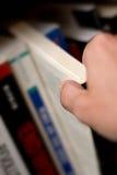 Libro di lettura Fotografia Stock