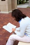 Libro di lettura Fotografie Stock