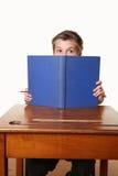 Libro di lettura del Bookworm Fotografia Stock Libera da Diritti