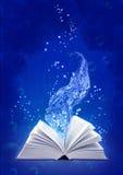 Libro di magia dell'acqua Immagini Stock