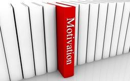 Libro di motivazione Fotografia Stock