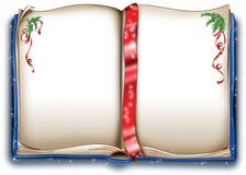 Libro di natale magico Immagini Stock