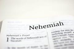 Libro di Nehemiah Immagine Stock Libera da Diritti