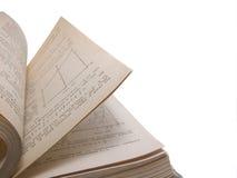 Libro di per la matematica Immagine Stock Libera da Diritti