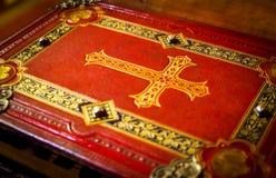 Libro di preghiera Fotografie Stock