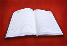 Libro-diario Foto de archivo
