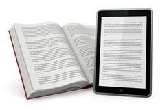 Libro e nuovetecnologie Vektor Illustrationer