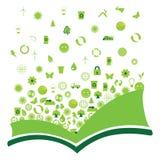 Libro ecológico Fotografía de archivo libre de regalías