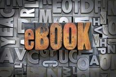 Libro elettronico fotografia stock
