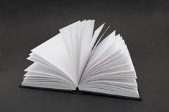 Libro en blanco Foto de archivo