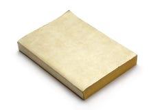 Libro en blanco viejo Foto de archivo libre de regalías