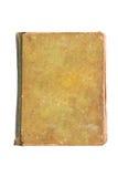 Libro en blanco viejo aislado en blanco Fotos de archivo