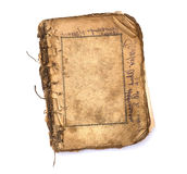 Libro en blanco viejo con los marcos. Fotografía de archivo libre de regalías