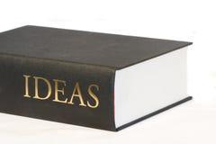Libro grande de ideas Imagen de archivo libre de regalías
