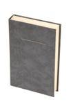 Libro grigio in bianco immagine stock libera da diritti