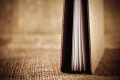 Libro hecho a mano Imágenes de archivo libres de regalías