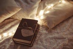 Libro hecho a mano de la decoración de la Navidad Fotografía de archivo libre de regalías