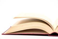 Libro isolato Fotografia Stock