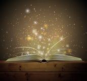 Libro mágico Fotografía de archivo