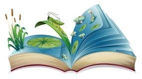 Libro móvil stock de ilustración